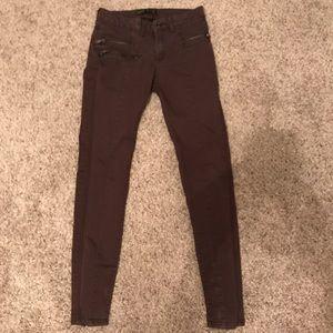 Zara Basic Denim skinny jeans pants size 4